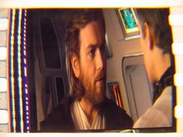 Star Wars II mounted film cell! Transparency slide 5 - $5.00