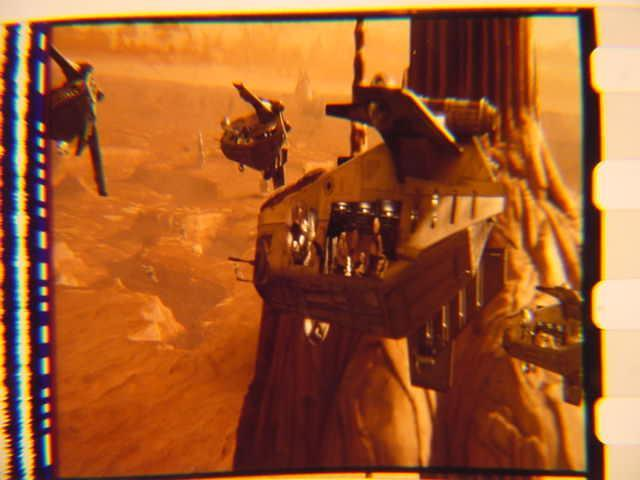 Star Wars II Vintage Transparancy film cell slide 16