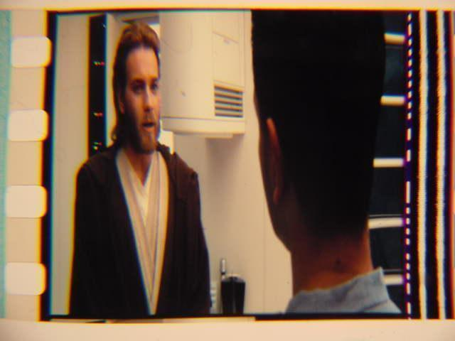 Star Wars II Vintage mounted film cell transparency slide 3