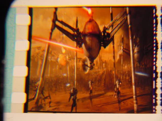 Star Wars II Vintage Transparancy film cell slide 8