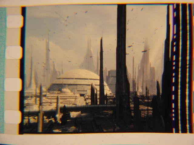 Vintage Star Wars II mounted film cell transparency slide 2