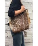 American Darling Natural Brown Hair on Hide Conceal and Carry Tote Bag~ ... - $149.00
