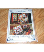 Four Corners 9280 Holiday Celebration Wallhanging Pattern - $6.95