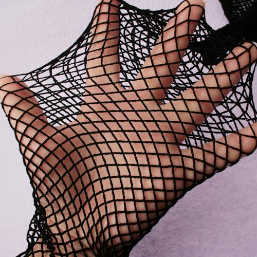 Sexy Large Fishnet Style Pantyhose Stockings Black
