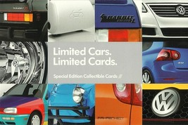 2007/2008 Volkswagen SPECIAL EDITIONS cards brochure catalog VW R32 Wolf... - $9.00