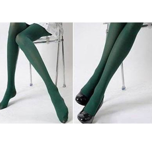 Ladies Sexy Dark Green Sheer Tights Pantyhose Stockings
