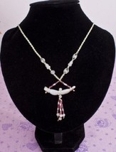 Necklace & Pendant Green Jade Bamboo Amulet New #540 - $8.99