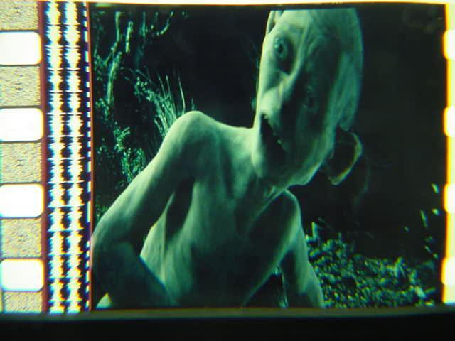 Gollum Lord of the Rings 35mm film cell transparency slide 2