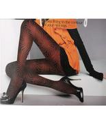 Lady Tights Pantyhose Leggings Black Color Print 600D - $24.90