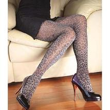 Sexy Tights Metallic Thread Leopard Pattern Pantyhose - $24.90