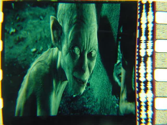 Gollum Lord of the Rings 35mm film cell transparency Slide 3
