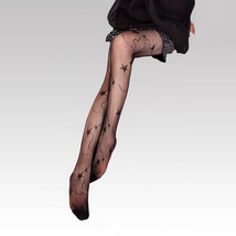 Sexy Pantyhose Leggings Star Pattern Fishnet Style  - $19.90