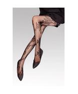 Sexy Pantyhose Leggings Flower Pattern Fishnet Style - $19.90