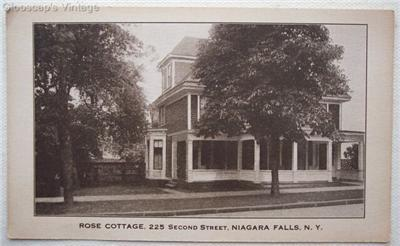 1920's PC Rose Cottage, 225 Second St., Niagara Falls