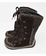 Merrell Women's Sz 5 Brown Puffin Lace High Boots Snow Winter Primaloft ... - $44.95