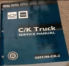1996 Chevy Suburban Tahoe Silverado Sierra Truck Service Repair Manual V... - $39.55