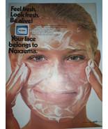 Vintage Noxzema Feel Fresh Look Fresh Print Magazine Advertisement 1971  - $3.99