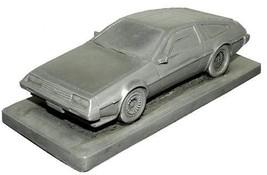 De Lorean DMC 12 Plain Bonnet Pewter Effect Model Car 02DL - $32.05