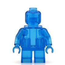 Blue Crystal Limited Supplies Blank Unprinted Pure Color Lego Toys Minif... - $3.25