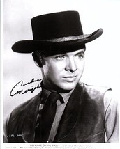 AUDIE MURPHY Signed Autographed  Photo w/COA - 90 - $195.00