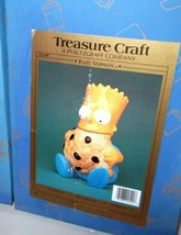 ✰ BRAND NEW SEALED! BART SIMPSON COOKIE JAR'S TREASURE CRAFT - $88.00