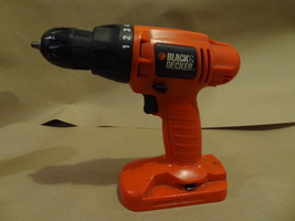 Black & Decker Cordless Drill PS1800 Works Well Used Nice 18V Bare Tool - $22.99