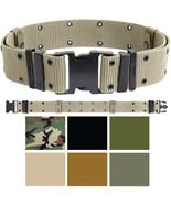 Military Pistol Belt Nylon Tactical Web Utility Duty ALICE Marine Corps ... - $10.99+