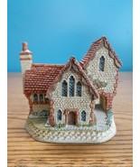 David Winter Cottages British Traditions Staffordshire Vicarage COA & Box - $15.79