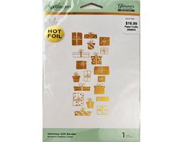 Spellbinders Glimmer Plate, Hot Foil System, Glimmer Gift Border #GLP-185