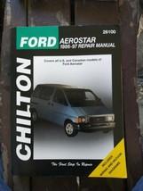 Chilton Ford Aerostar 1986-97 Repair Manual 26100 Covers All US & Canadian... - $12.86