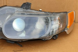 06-09 Saab 9-5 HId Xenon Headlight Head Light Lamps Set L&R - POLISHED image 2