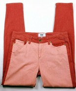 Paige Womens Verdugo Ankle Skinny Jeans Size 30 Colored Wash Stretch Red... - $53.00