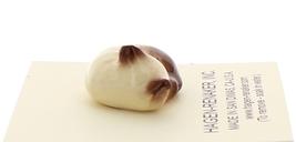 Hagen-Renaker Miniature Cat Figurine Siamese Kitten Sleeping Chocolate Point image 2