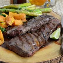 Grass Fed Beef Outside Skirt Steaks, Peeled, Boneless - 2 pieces, 2 lbs ea - $42.26