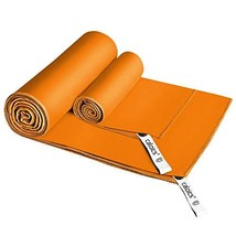 "CALOICS Microfiber Towel, Fast ((52""x32"")+(24""x15"")-2 pieces