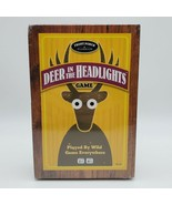 Deer in the Headlights Card Dice Game Front Porch Classics Factory Sealed! - $11.83
