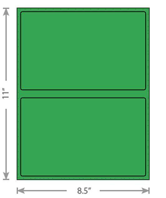 8.5x12 Black Poly Bubble Mailer + 8.5x5 Half Sheet Self Adhesive Shipping Labels