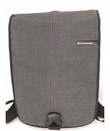 "Brenthaven Gray Cotton 15"" Laptop MacBook Padded Backpack Bag Computer Case - $107.80"