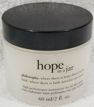 Philosophy HOPE IN JAR High-Performance Moisturizer All Skin Types 2 oz/60mL New - $75.24