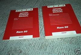 1990 Dodge Ram 50 Truck Service Repair Shop Manual Set 90 Factory Oem Book - $8.15