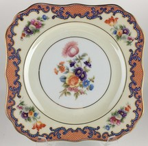 Hutschenreuther china Royal Bavarian HUT36391 Square salad plate - $25.00