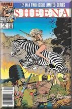 Sheena #2 (1985) *Copper Age / Marvel Comics / Official Film Adaptation* - $3.00
