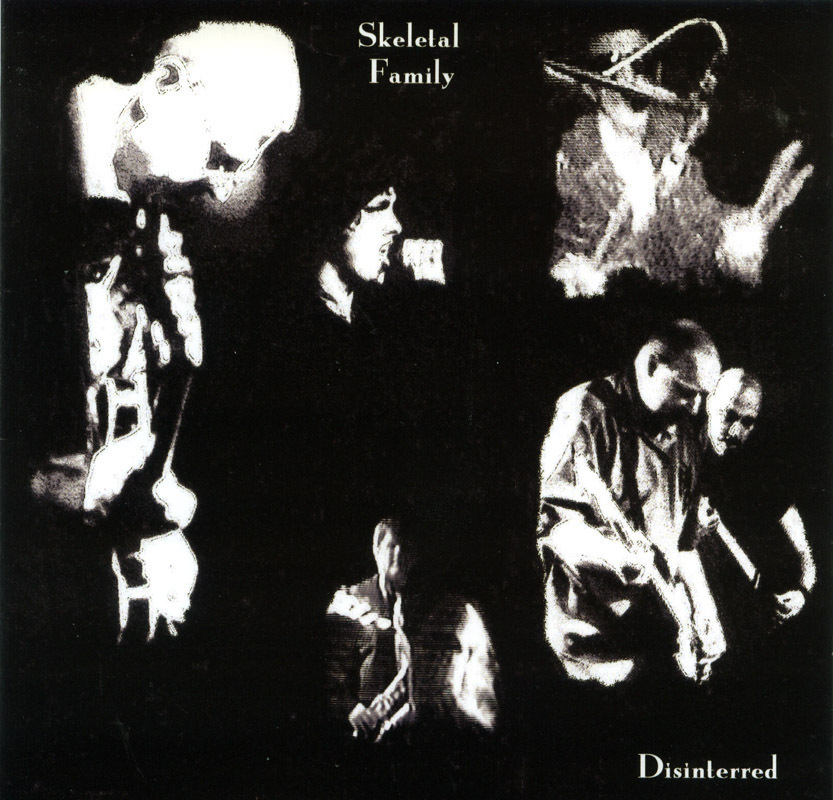 Skeletal Family - Disinterred CD Live U.K. Goth Old School