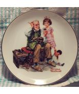1984 Norman Rockwell Museum The Cobbler Collector Plate  - $10.00