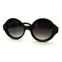 Unique Carved in Circle Round Frame Sunglasses Womens Fashion - $7.95