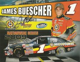 2009 JAMES BUESCHER #1 MICCOSUKEE POSTCARD SIGNED - $10.95