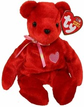 Ty Beanie Babies KISS-e the Valentine's Bear  NEW - $7.91
