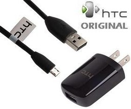 HTC OEM TRAVEL CHARGER MICRO USB CABLE COMBO CNR6300 - $12.99