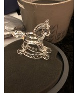 Swarovski Little Rocking horse with Box - $65.00
