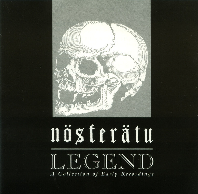 Nosferatu - Legend CD Early Recordings Gothic Rock